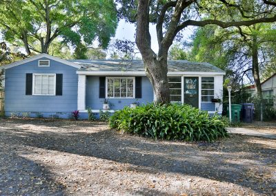 3 bedrooms and 2 full baths  seminole heights Tampa Bay 1,476 sq feet